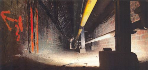 Photo of OSU Underground Tunnel